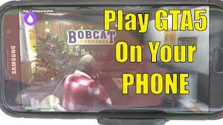 How To Play GTA5 On Your PHONE - LiquidSky Review, Gaming PC in The Cloud