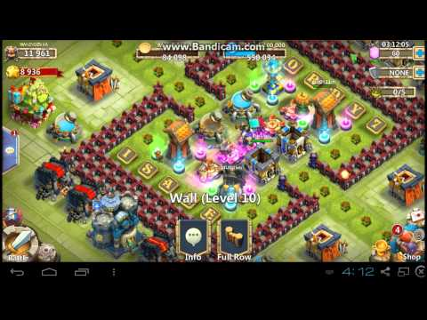 Castle Clash - Townhall Level 16 HBM