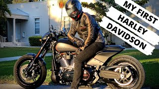 COLLECTING MY HARLEY DAVIDSON FXDR | VLOG 627 | LIFE IN MIAMI