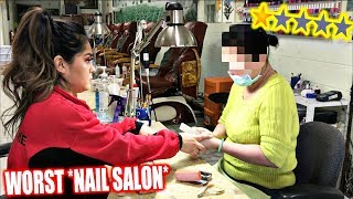 Download Going To The Worst Reviewed *NAIL SALON* In My City! *1 STAR* Mp3 and Videos