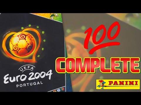 Panini UEFA EURO 2004 Sticker Album | 100% FULL COMPLETE