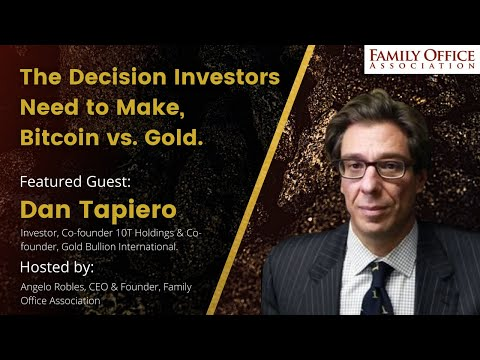 Bitcoin vs. Gold, Incredible Trader Dan Tapiero Discusses The Decision Investors Need to Make.