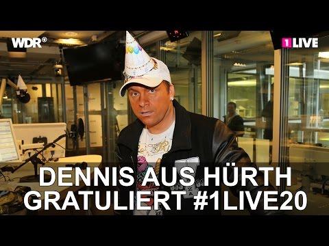 Dennis aus Hürth gratuliert | #1LIVE20