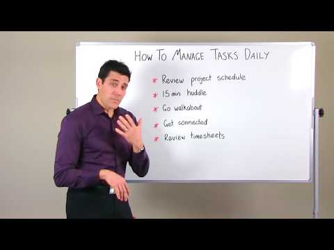 Project Task Management Tips: How To Manage Your Tasks Daily