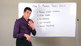 project task management tips how to manage your tasks daily