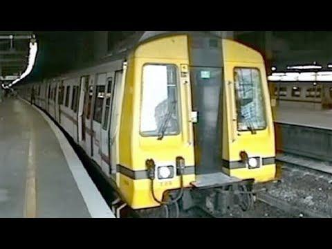香港・KCR(九廣鐵路英段)1993年 KCR Train - Hong Kong 1993