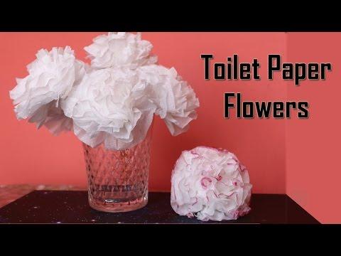 DIY Toilet Paper Flower | Centerpiece Ideas | Wedding Decoration Ideas