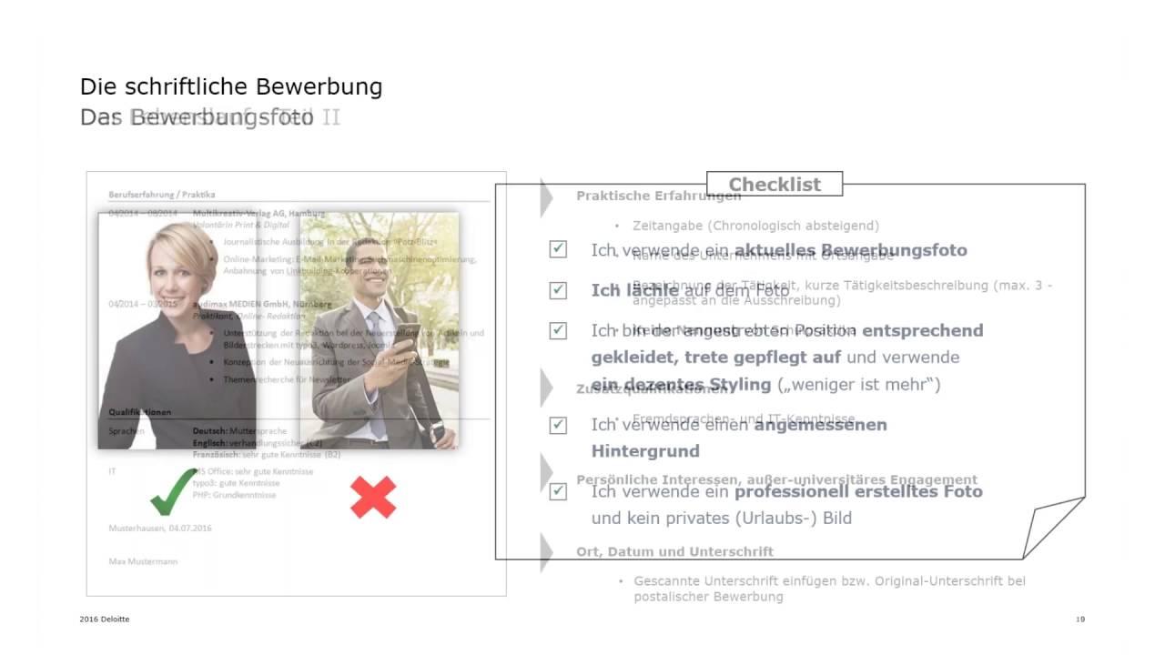 Deloitte Stay in Touch Community Webinar Bewerbung - Ihre ...