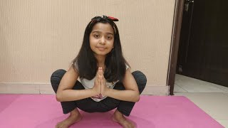 Malasana Yoga pose Variations for Beginners.Garland Pose Benefits.
