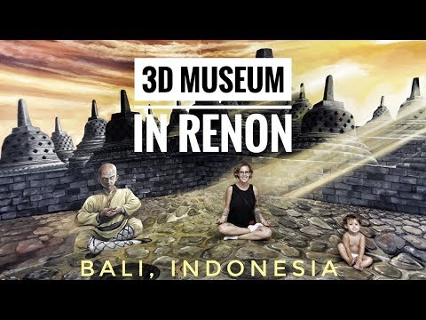 THE MOST AMAZING 3D MUSEUM - BALI, INDONESIA