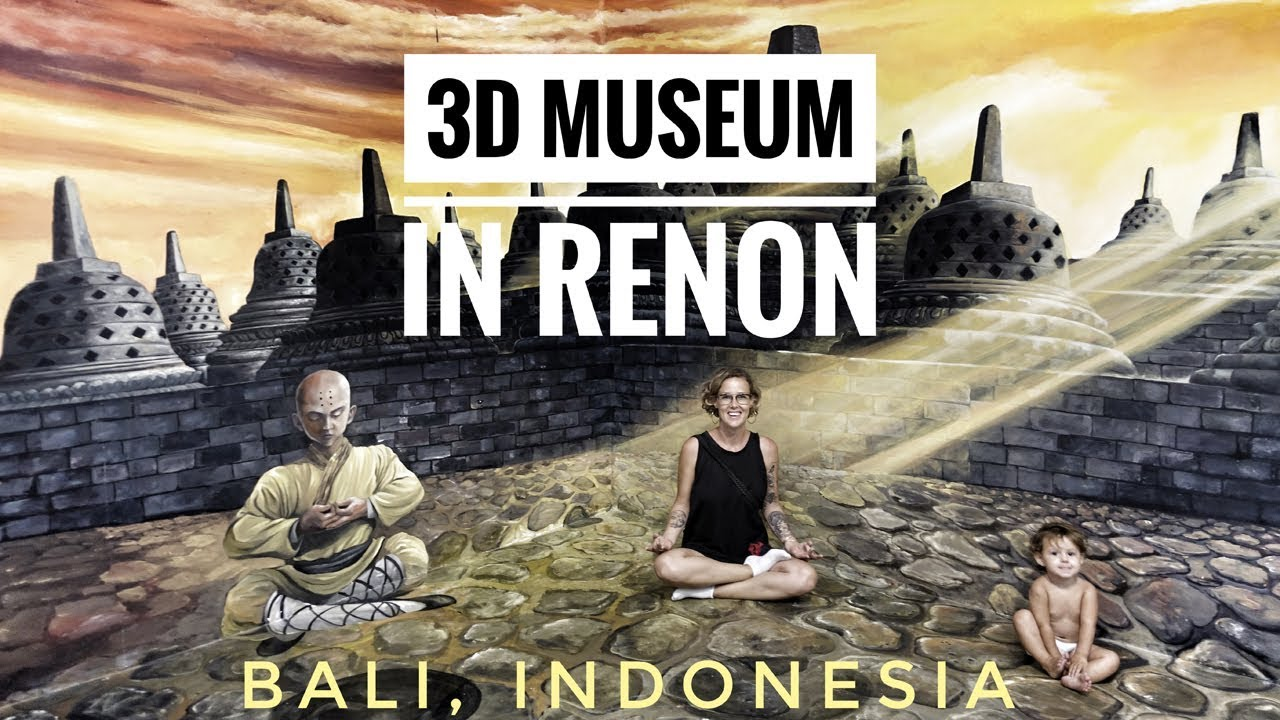 The Most Amazing 3d Museum Bali Indonesia Youtube