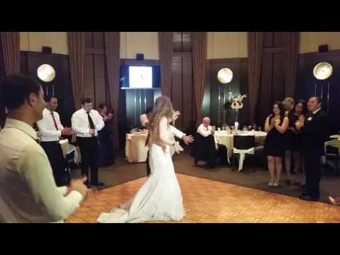 Russian DJ wedding in Las Vegas Nevada Kavkaz dance