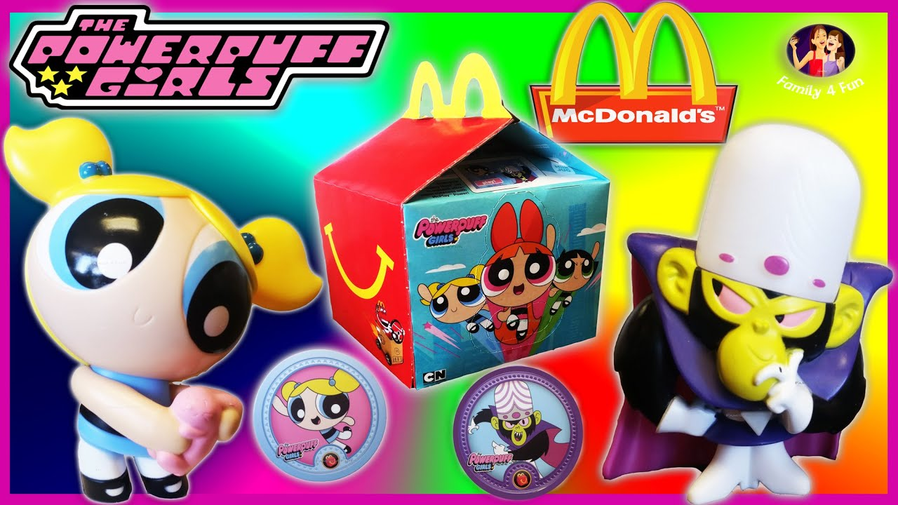 New 2016 McDonald s Happy Meal Light Plush Doll Powerpuff Girls