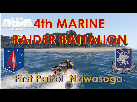 4th Marine Raider Battalion, Operation Deep Cleanse, First Patrol