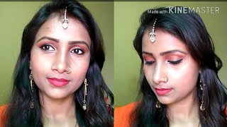 Light Party Makeup /Morning and Night makeup Look/Beauty Style Tips