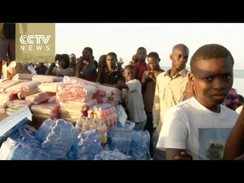Aid reaches remote areas following Hurricane Matthew in Haiti