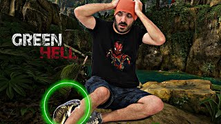 Me MUERDE una SERPIENTE y me vuelvo LOCO - Green Hell (Survival Game)