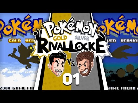 ANOTHER RIVAL RACE BEGINS! | Pokemon Gold & Silver Rival Locke w/ ShadyPenguinn & Nipps