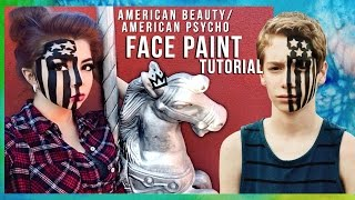 """Fall Out Boy """"American Beauty/American Psycho"""" FACE PAINT Tutorial ☆ 