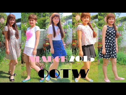 SUMMER OOTW 2015 || Cute Outfit Ideas♡ - YouTube