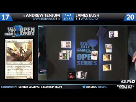 SCGSTL - Standard - Round 7 - Andrew Tenjum vs James Bush