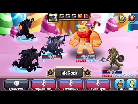 Monster Legends - Faugnar level 130 review battles - Good Dark Monster ELDRITCH'S ABOMINATION MAZE