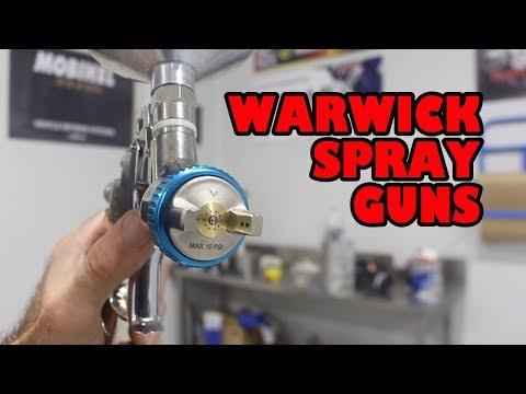 Great spray gun for beginner or pro Warwick Gun Review