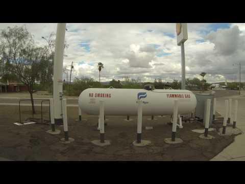 Jefferson Ave, Ajo to Lukeville, Arizona, US-Mexico Border Port of Entry & Back