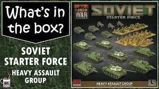 Soviet starter force Heavy Assault Group unboxing and review. What's in the box?