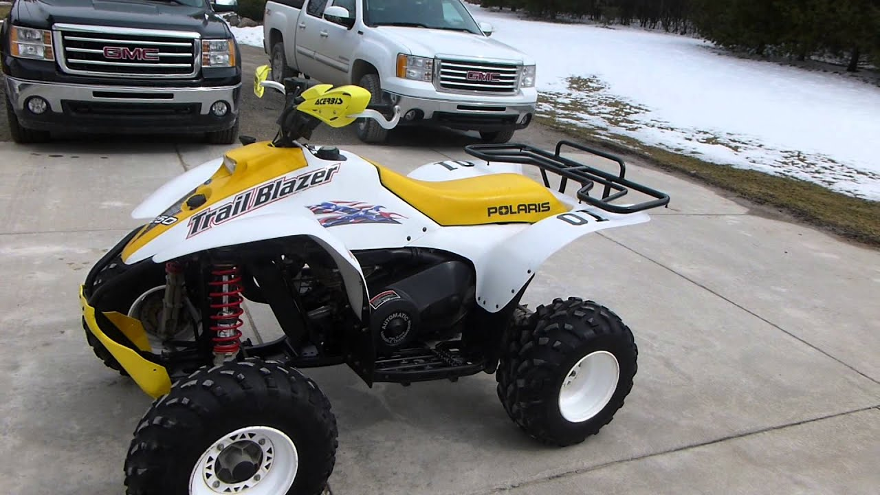 2001 polaris trailblazer 250 walkaround youtube rh youtube com Polaris Trailblazer 250 Repair Manual 2000 Polaris Trailblazer 250 Parts