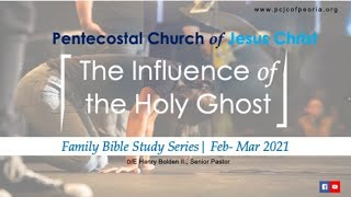 INFLUENCE OF THE HOLY GHOST | PASTOR HENRY BOLDEN II | MAR 31