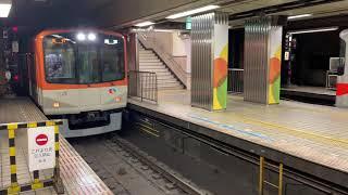 阪神電車 阪神梅田駅にて(H31・2・15)9300系急行、5500系普通