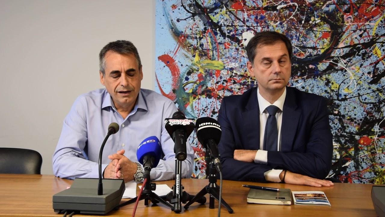 Επίσκεψη υπουργού τουρισμού στον δήμαρχο Τρίπολης
