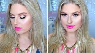 Get Ready With Me ♡ Bright Eyes, Glowing Skin, Pink Lips!