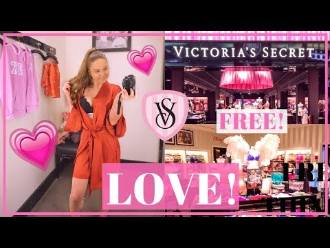 MASSIVE VICTORIA'S SECRET TRY ON + SHOP WITH ME! WHAT'S NEW AT VS?!