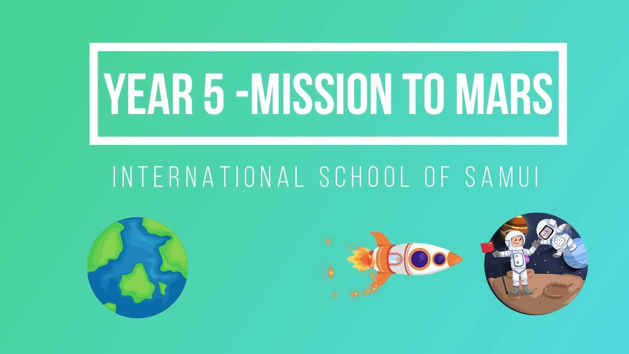 Year 5 - Mission surMars