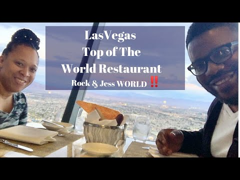 Las Vegas Top Of The World Restaurant In Stratosphere Hotel