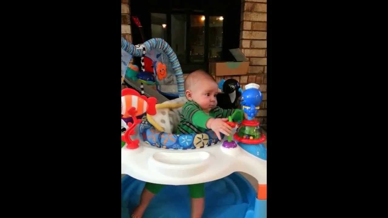 26f2faf9b Baby Neptune Activity Saucer - YouTube