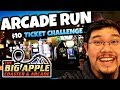 Jackpots and Tickets at the Big Apple Arcade in the New York New York Hotel in Las Vegas!