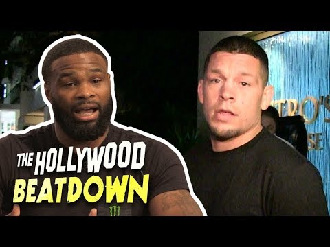 Tyron Woodley Accepts Nate Diaz Fight (Exclusive) | The Hollywood Beatdown