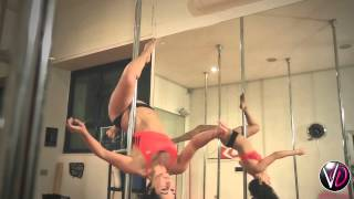 Vertical Dolls Studio Roma Show Reel Pole Dance - Vania Bruno