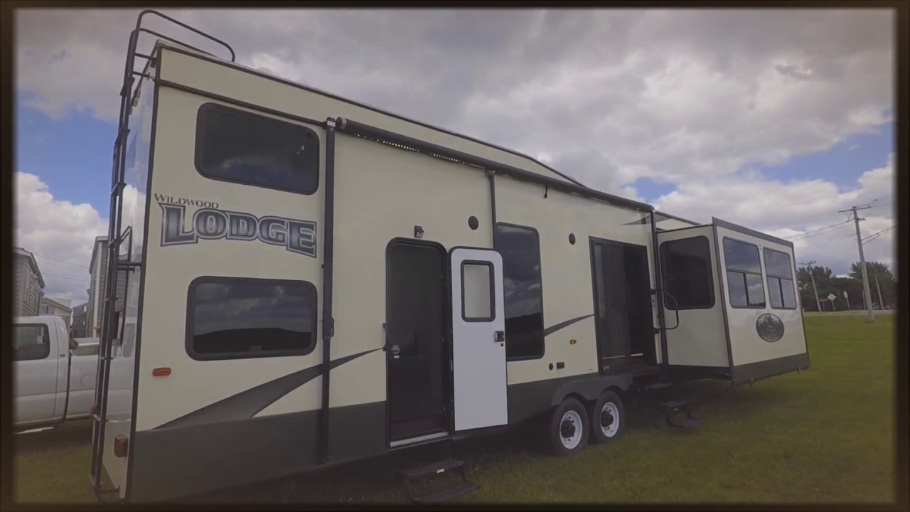 2015 grand lodge loft model 4092bfl luxury rv youtube for Rv with loft