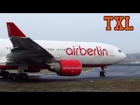 BUSY WINTER DAY! Close Up Planespotting at Berlin Tegel Airport (TXL) [Full HD]