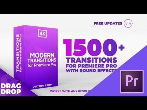 قوالب بريمير مجانية تحميل حزمة انتقالات بها 1500 انتقال تعمل علي البريمير لاعمال المونتاج 2019 Youtube