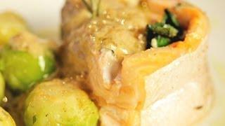 Рецепт запеченного лосося - Основной инстинкт. Выпуск 1