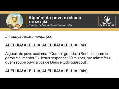 Alguém do povo exclama (PLAYBACK) - Por Angel Salmos - Belém