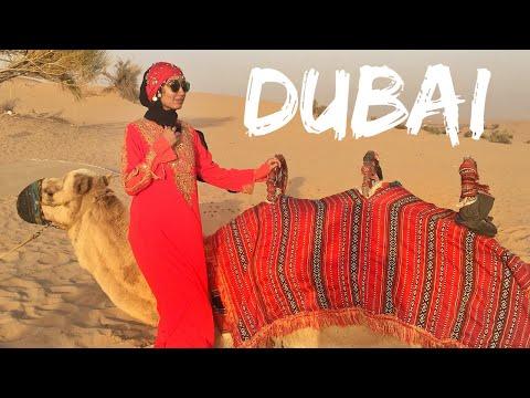 DUBAI TRAVEL VLOG | DESERT SAFARI, BUR DUBAI, DEIRA CITY CENTER