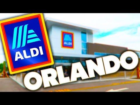 SHOPPING AT - ALDI - ORLANDO - FLORIDA