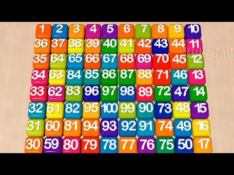 Numbers Song   Learn to Count the Number 1 to 100  Education  for Kids