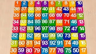 Numbers Song Learn To Count The Number 1 To 100 Education Video For Kids